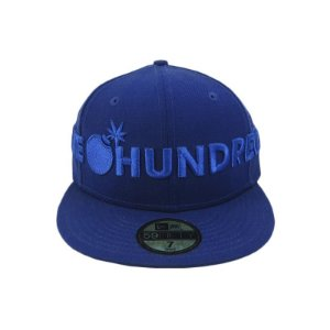 Boné The hundreds x New Era Collab Fechado-Azul