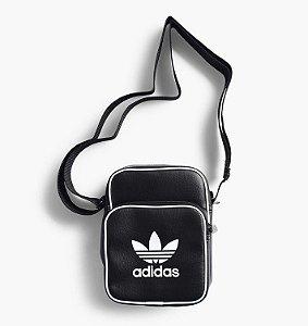 Bolsa Mini Adidas Classic PU-Preta