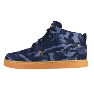 Tênis Hocks Corunã Navy Camo