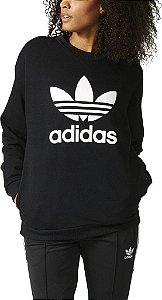 Blusa Adidas Trefoil Moletom