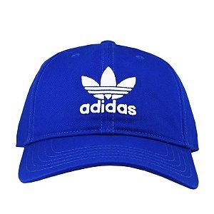 Boné Adidas Trefoil Aba Curva - Azul