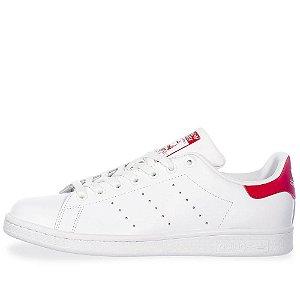 Tênis Adidas Stan Smith - Branco/Vermelho