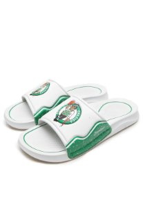 Chinelo Slide Rider Infinity NBA Gaspea Boston Celtics Branco