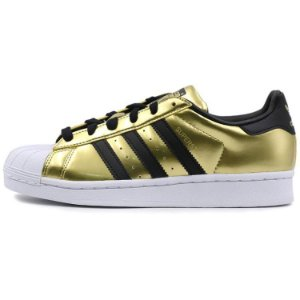Tênis Adidas Superstar W  Gold