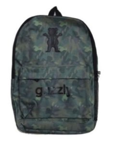 Mochila Grizzly O.g Logo Military