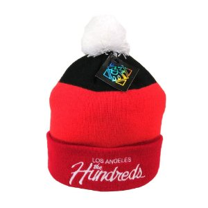 Gorro The Hundreds Red Orange