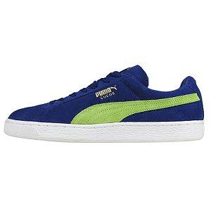 Tênis Puma Suede Classic-Azul/Verde