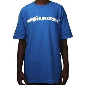 Camiseta The Hundreds Forever Bar Logo - Turquoise