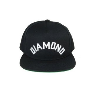 Boné Diamond Supply Co. - Arch - Snapback (Black)