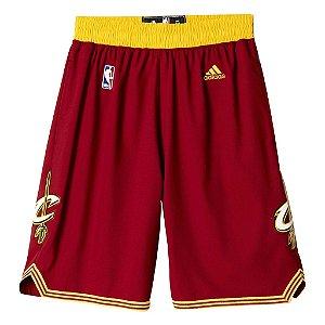 Short Adidas Nba Cleveland Cavaliers Swingman-Vinho
