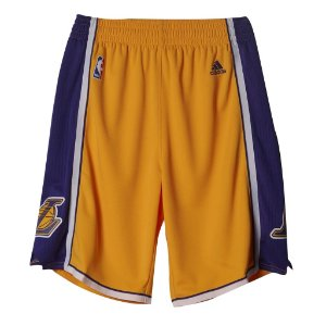Short Adidas Nba Swingman Lakers
