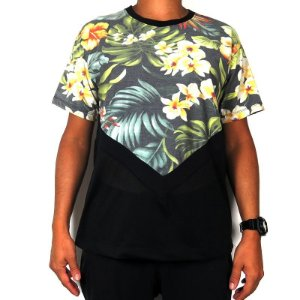 Camiseta Outlawz Visionary-Flowers Mix