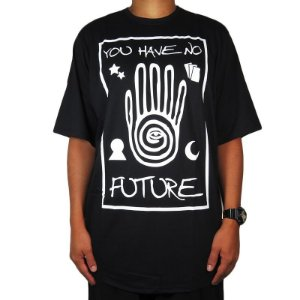 Camiseta Outlawz No future-Preta