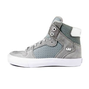 Tênis Supra Vaider Light-Grey/White