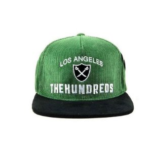 Boné The Hundreds Home Strapback-Camurça Verde Musgo