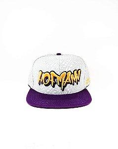 Boné Hofmann Snapback-Tag White/Purple