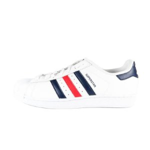 Tênis Adidas Superstar Foundation - Navy/Red