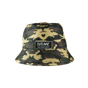 Bucket Outlawz Dupla Face-Black/Camo