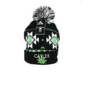 Gorro Cayler & Sons Black White Green