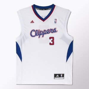 Regata Adidas Nba Los Angeles Clippers-Branca