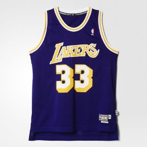 Regata Adidas Retired Nba Lakers Kareem Abdul Jabbar-Purple/Yellow