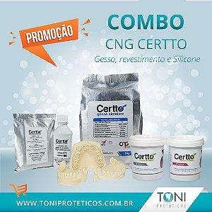 Combo CNG = Certtinho+Revestimento+Gesso