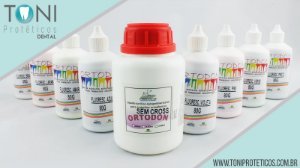 KIT RESINA ORTODON FLUORESCENTE | 8x80g | 250ml S/CROSS