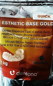 GESSO ESTHETIC-BASE GOLD QUICK 1KG ESCANEÁVEL