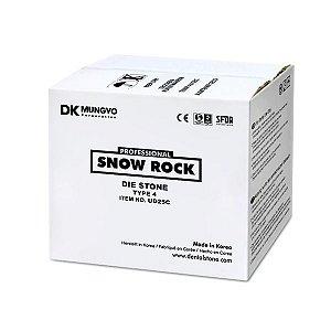 GESSO SNOW ROCK DIE STONE ROSA|25KG|TIPO 4|MODELO|TROQUEL|ODONTOMEGA