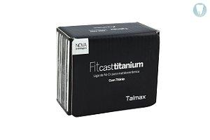 FITCAST TITANIUM |LIGA Ni-Cr |COM TITANIUM |METALOCERÂMICA|FUNDIÇÃO|TALMAX|250g