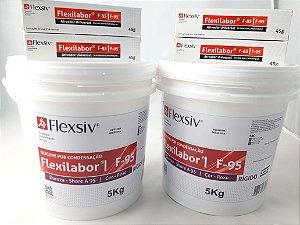 SILICONE LAB FLEXILABOR 2X5KG+8 CATALISADORES|FLEXSIV|TIPO ZETALABOR|MURALHA|RESINA