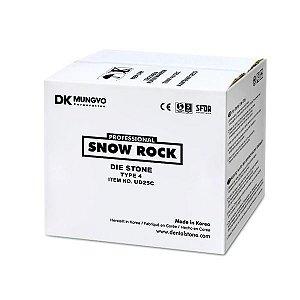 GESSO SNOW ROCK DIE STONE VERDE 25KG|TIPO 4|MODELO|TROQUEL|ODONTOMEGA