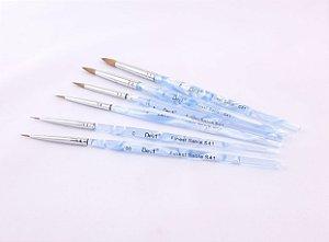 Pincel marmorizado CNG kit/6 peças