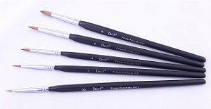 Pincel Finest Kolinsky CNG kit/5 peças