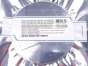 Placa redonda Cristal 1mm BioArt