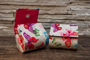 Bolsinhas Artesanais para guardar seu coletor e absorventes!