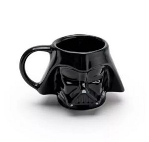 Caneca Darth Vader Porcelana 3d - Star Wars