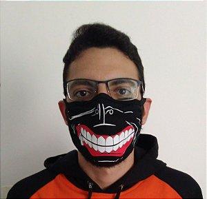 Máscara de Tecido Tokyo Ghoul - Reutilizável