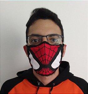 Máscara de Tecido Homem Aranha Reutilizável
