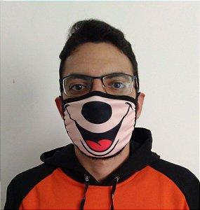 Máscara de Tecido Mickey Mouse (Disney) Reutilizável