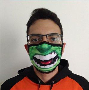 Máscara de Tecido Hulk Reutilizável