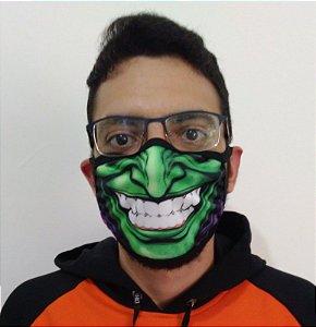 Máscara de Tecido Duende Verde Reutilizável