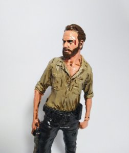 Estatueta Rick Grimes - The Walking Dead