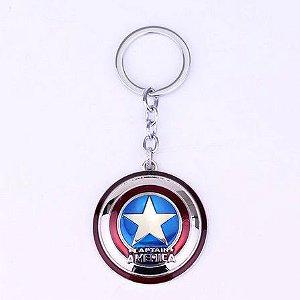 Chaveiro Escudo Capitão América Vingadores (Avengers)