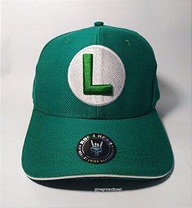 Boné Luigi - Super Mário Bros