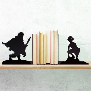 Porta Livro Senhor Dos Anéis