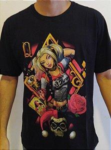 Camisa Arlequina - Harley Quinn