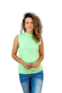 CAMISETA REGATA BRISA - MINT