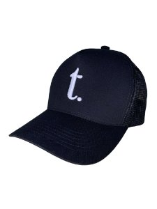BONÉ TRUCKER THREE - PRETO