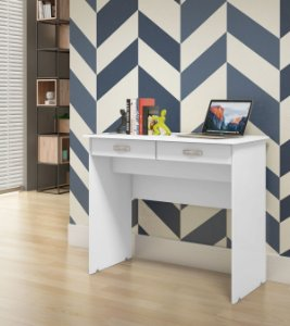 Escrivaninha 2 Gavetas Várias Cores - EJ Móveis